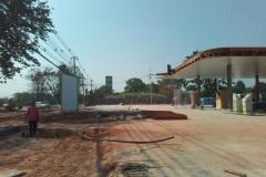 งานรับเหมาก่อสร้างสถานีบริการก๊าซธรรมชาติ