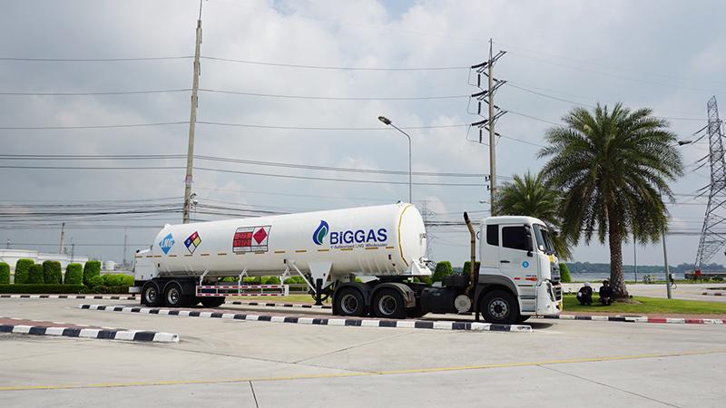 ธุรกิจจำหน่ายก๊าซธรรมชาติเหลว (Liquefied Natural Gas : LNG)